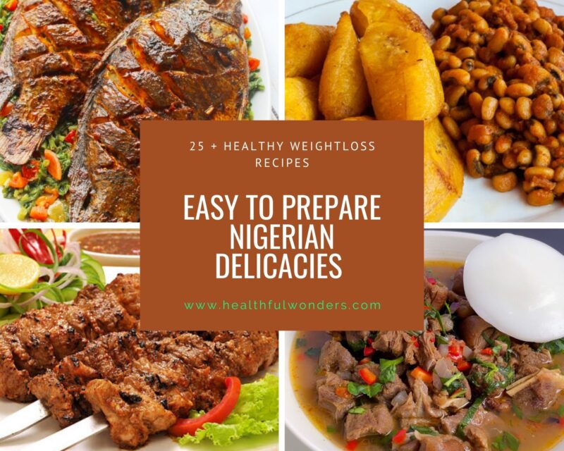 Nigerian 21-day timetable to lose weight